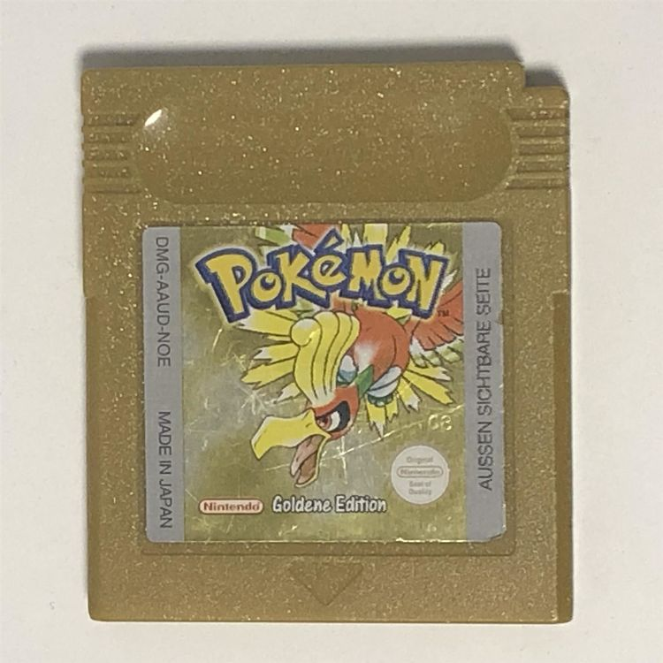 Pokemon Goldene Edition GB