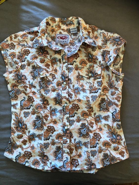 Bluse,Roper, Countrystyl, Western 1