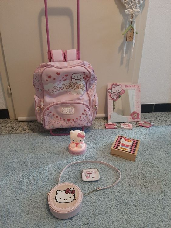 6-teiliges Hello Kitty Set Trolley Lampe 1