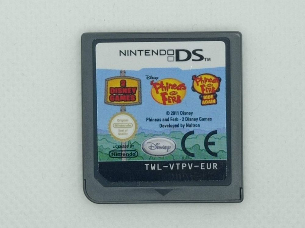 Nintendo DS - Phineas and Ferb 1