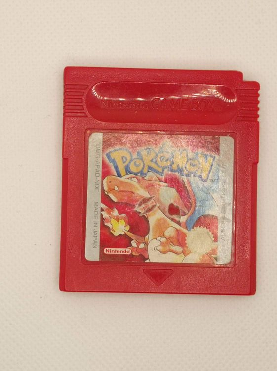 Gameboy - Pokemon Rot / Rote Edition 1