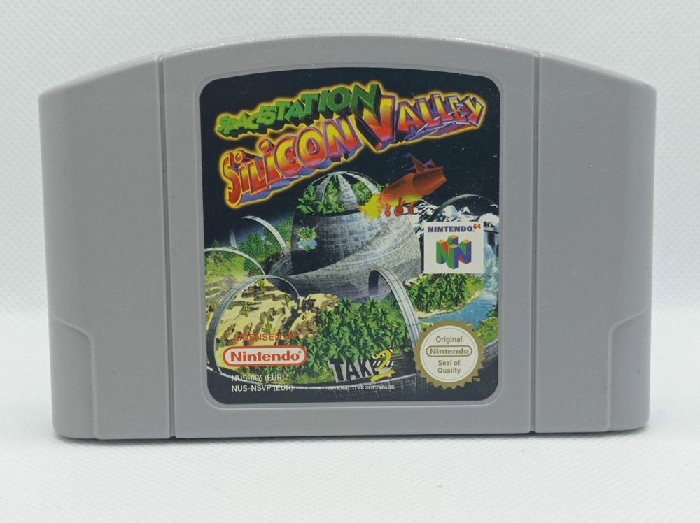 N64 - Space Station Silicon Valley 1