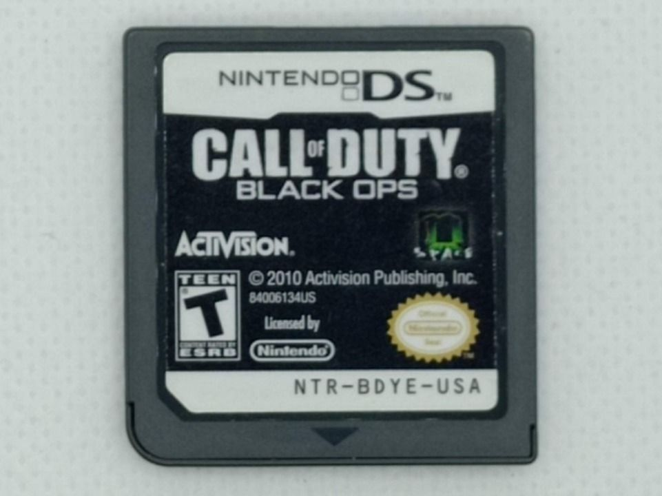 Nintendo DS - Call of Duty Black OPS 1