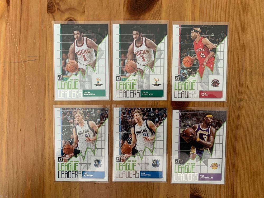 NBA Trading Cards All Time League Leader 1