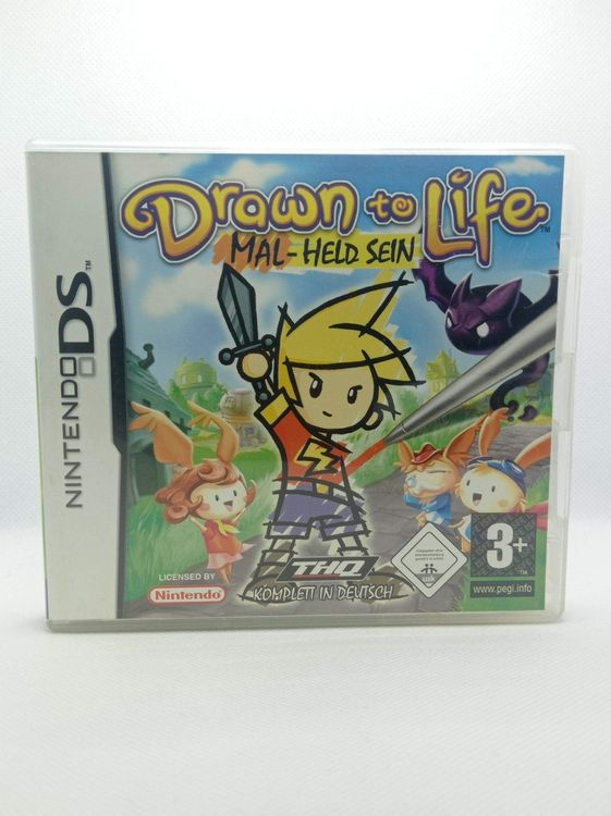Nintendo DS Drawn to Life Mal-Held sein 1