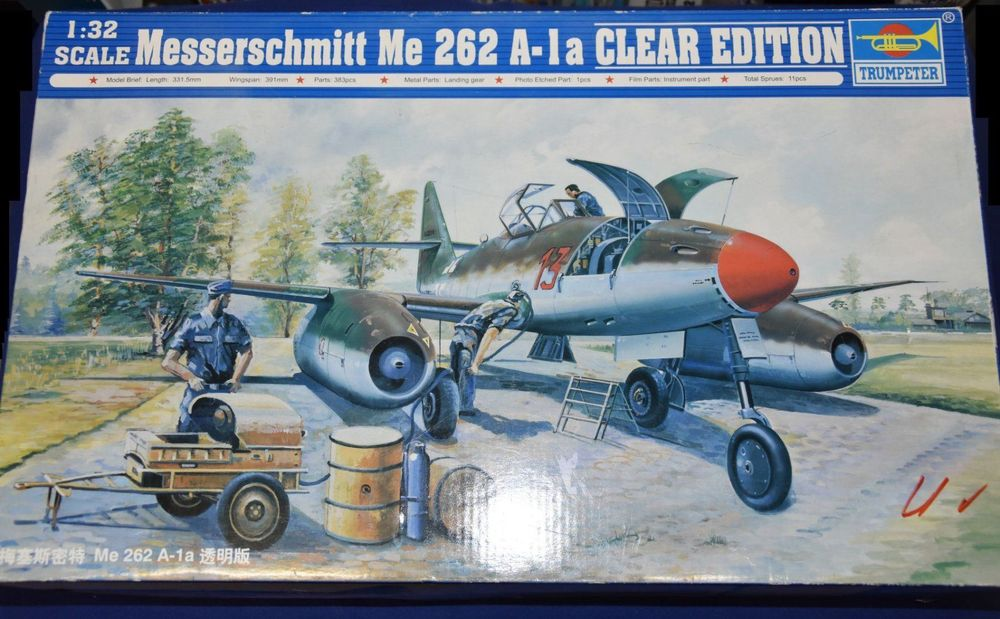 Me-262 Clear-View special 1