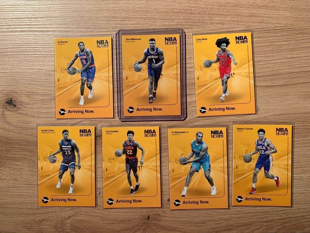 NBA Hoops Card Arriving Now ZION 1