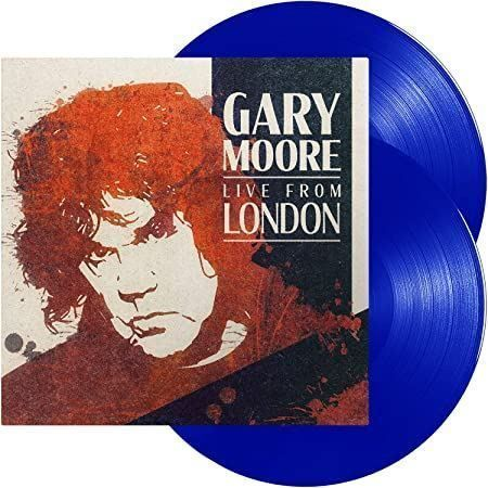 Gary Moore Live from London 2LP Blue Vin 1
