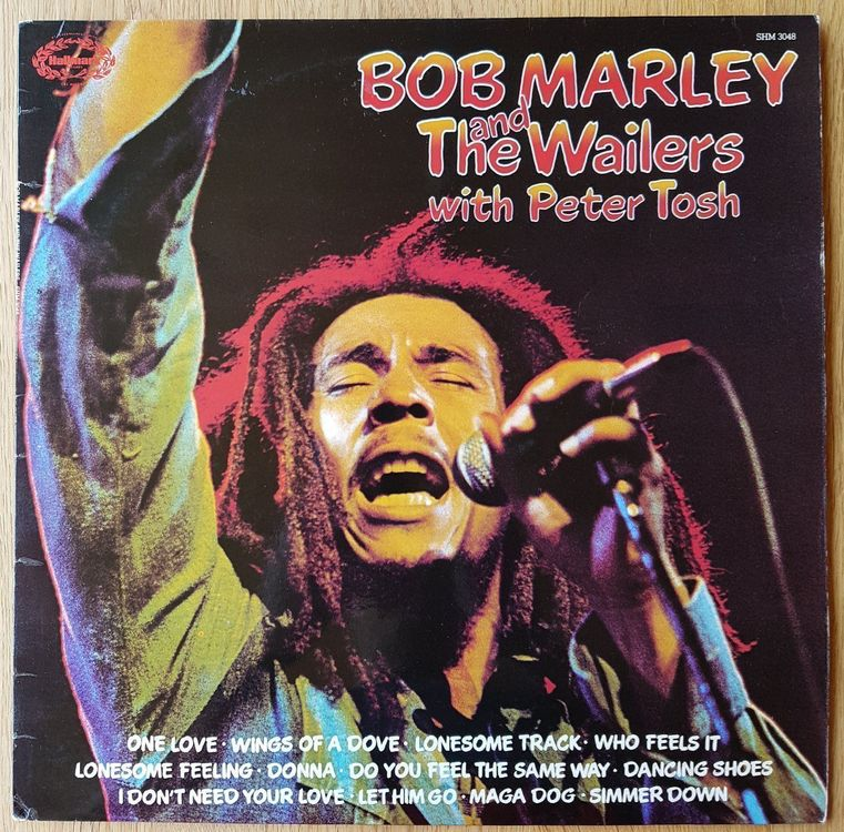 Bob Marley & The Wailers with Peter Tosh 1