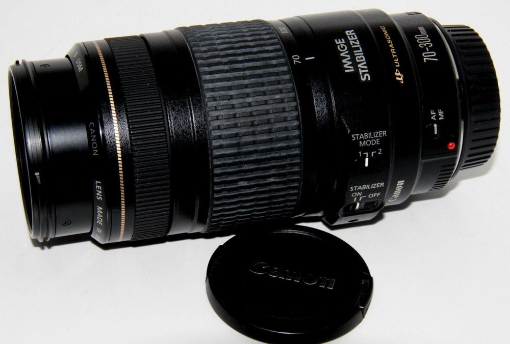 CANON EF 4-5.6 / 70-300 mm IS USM 1