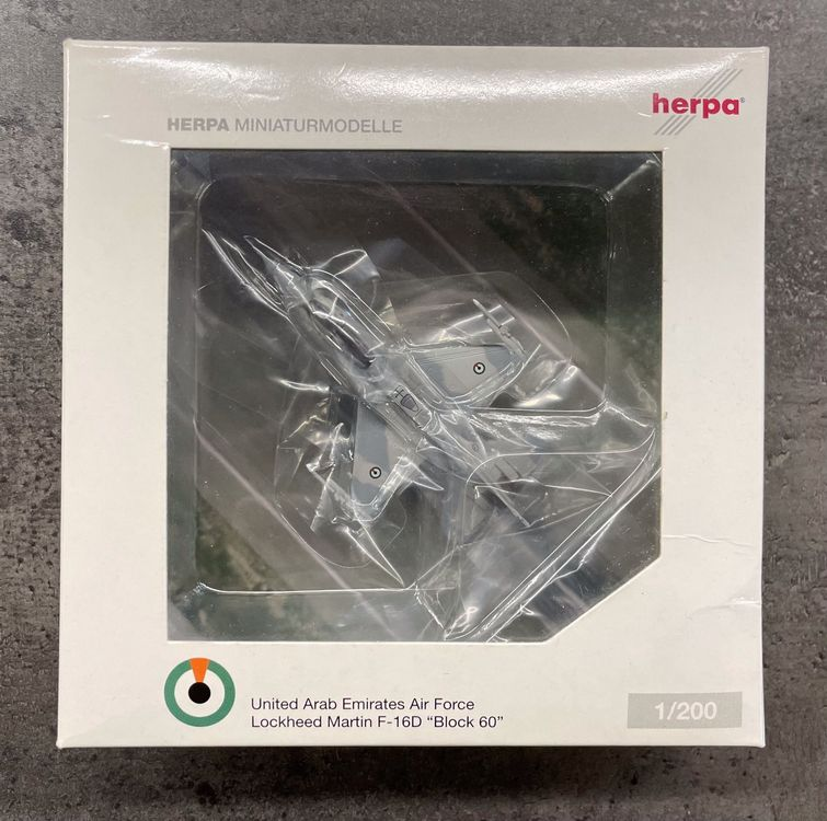 """Herpa Wings 551786 """"Emirates Air Force"""" 1"""