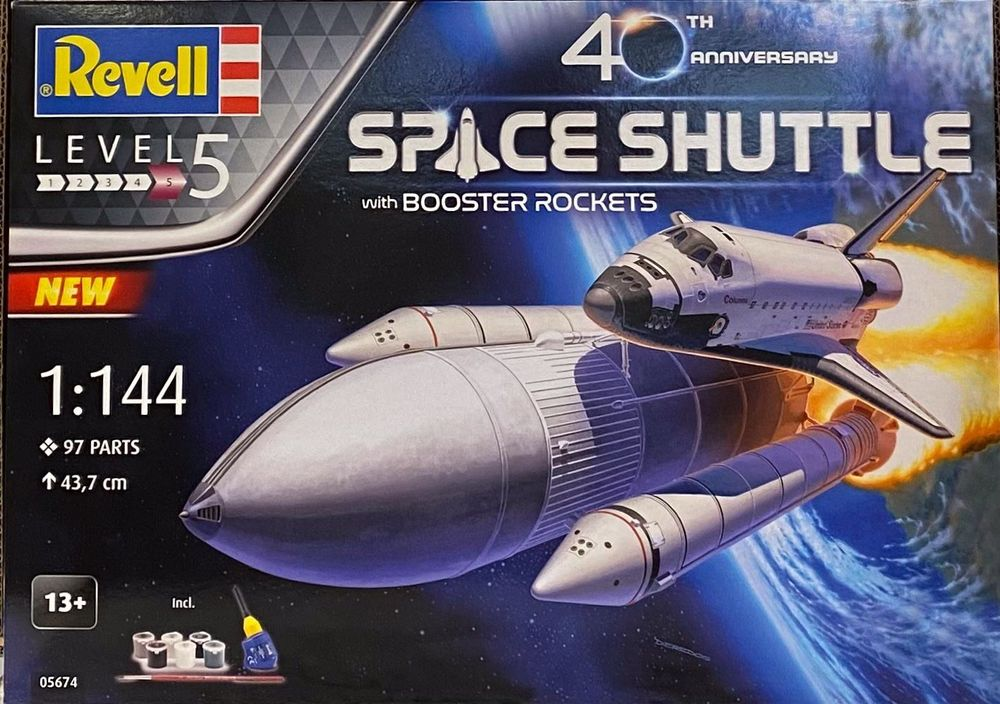 """Revell 05674 """"40 Jahre Space Shuttle"""" 1"""