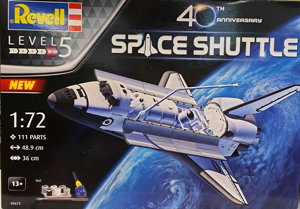 """Revell 05673 """"40 Jahre Space Shuttle"""" 1"""