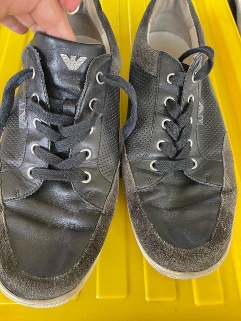 Armani leather sneakers size 42 1