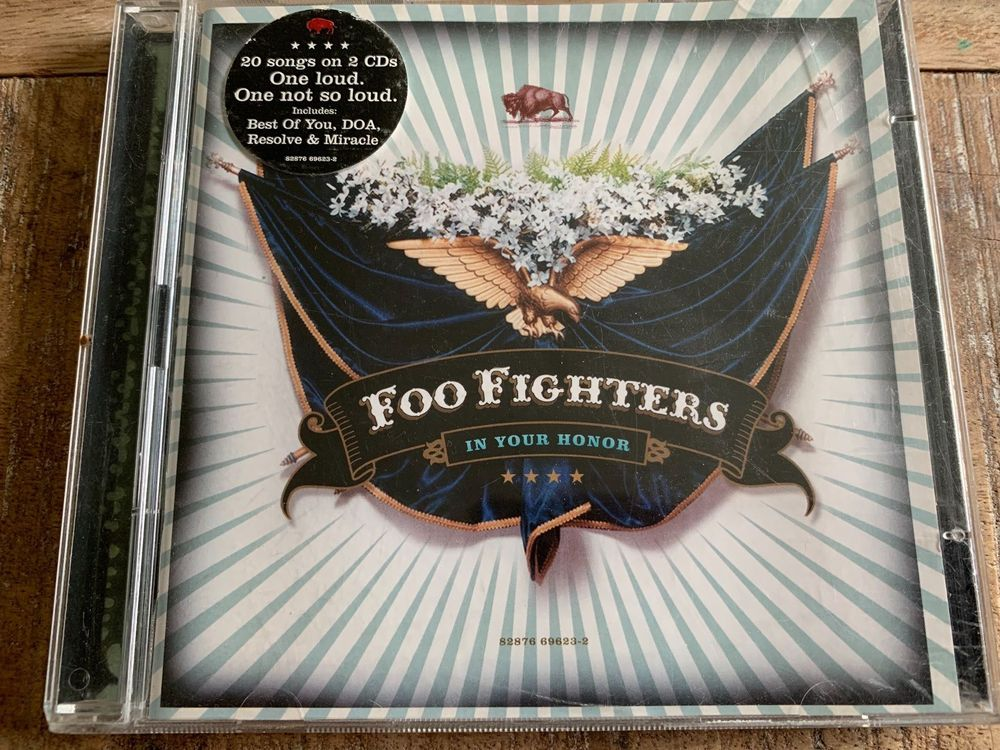 Foo Fighters In Your Honor Doppel-CD 1