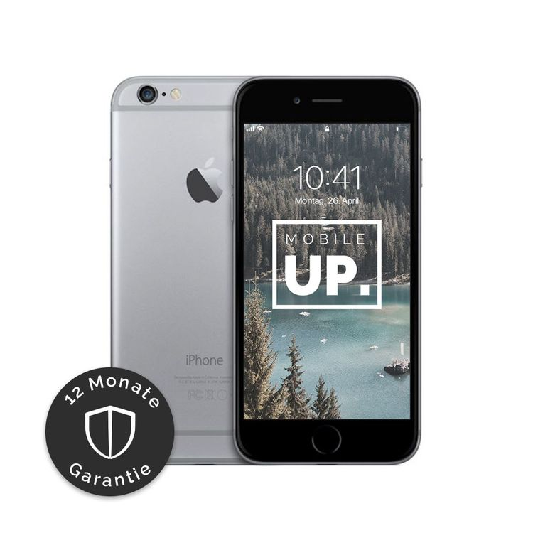 iPhone 6 128 GB Space Gray - Sehr gut 1