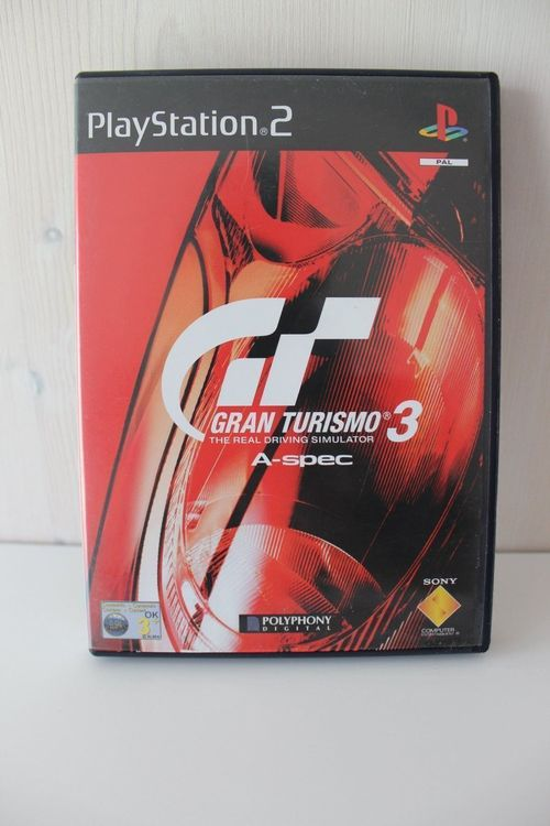 Gran Turismo A-Spec PS2, Play Station 2 1