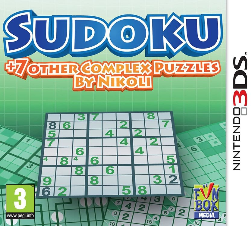 3DS__ Sudoku 7 Other Complex 1