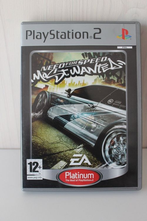 Need for Speed Most Wanted PS2 Platinum 1