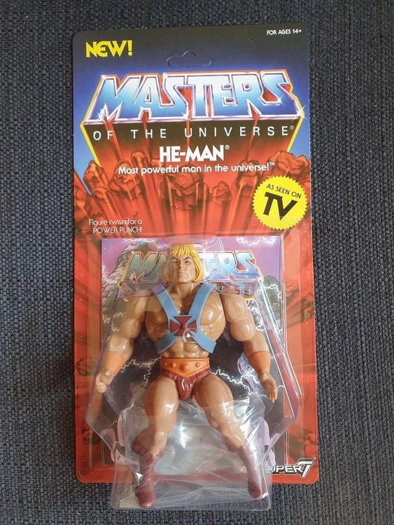 Vintage He-Man Masters of the Universe 1
