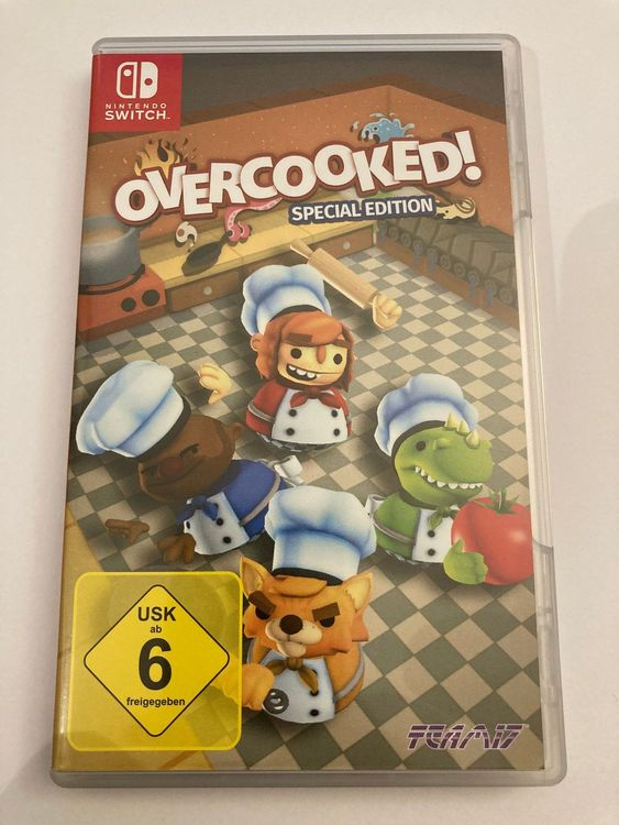 Switch Spiel - Overcooked! 1