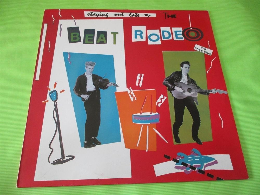 The Beat Rodeo – Staying Out Late Label 1