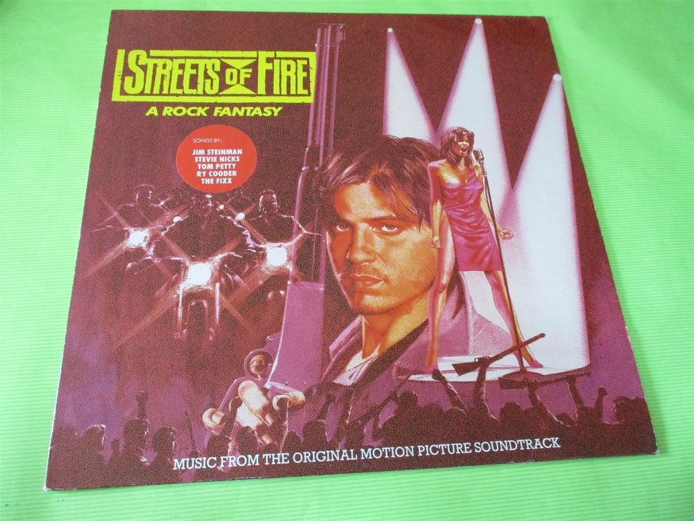 Various – Streets Of Fire - Music From T 1
