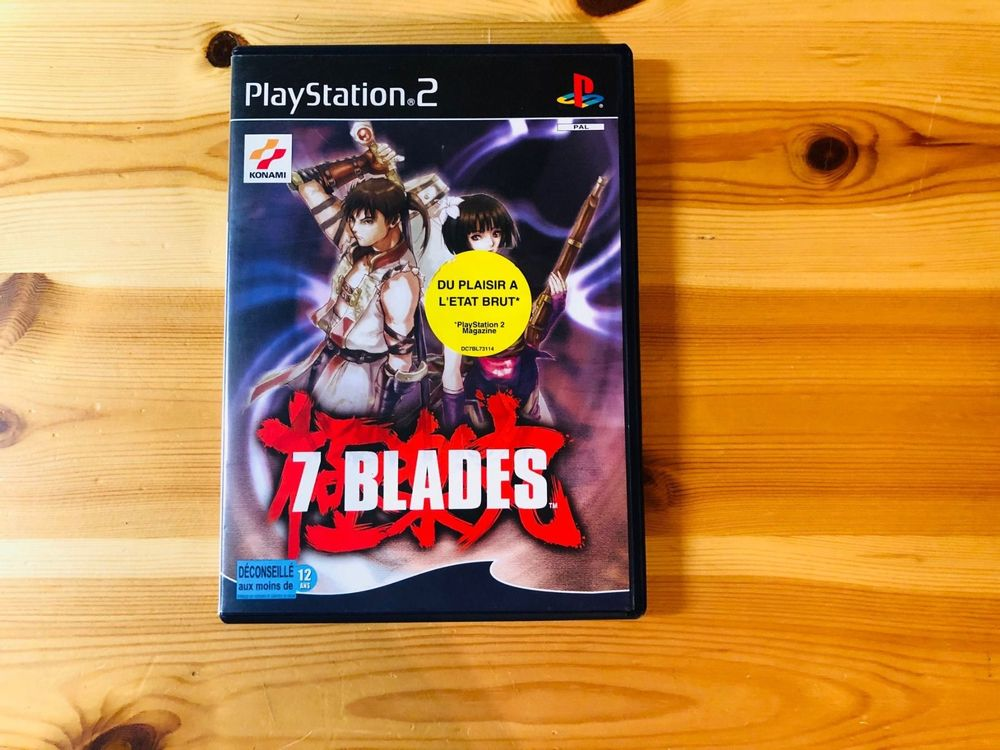 [PS2] 7 Blades 1