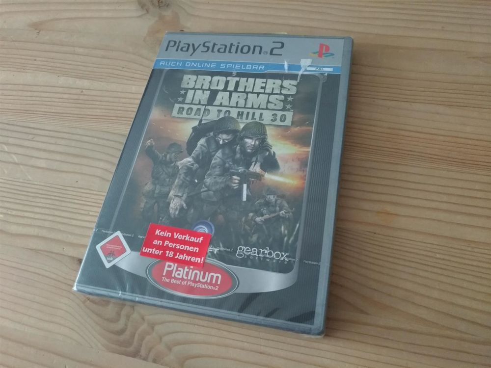 Brothers in Arms Road to Hill 30 NEU PS2 1