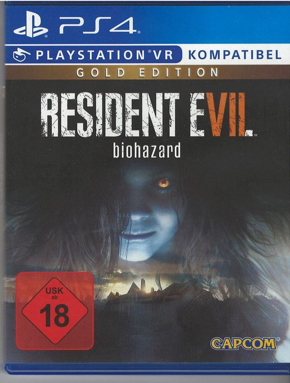 PS4 Resident Evil biohazard Gold edition 1