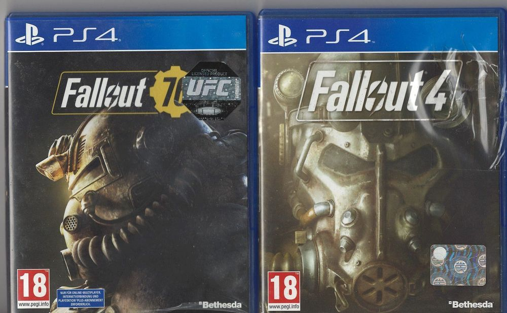 PS4 Fallout 76 und Fallout 4 1