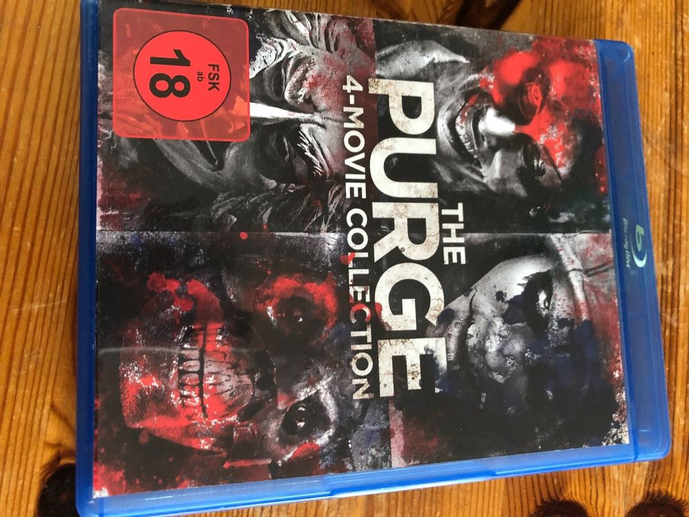 The Purge 1 - 4  4-Movie Collection 1