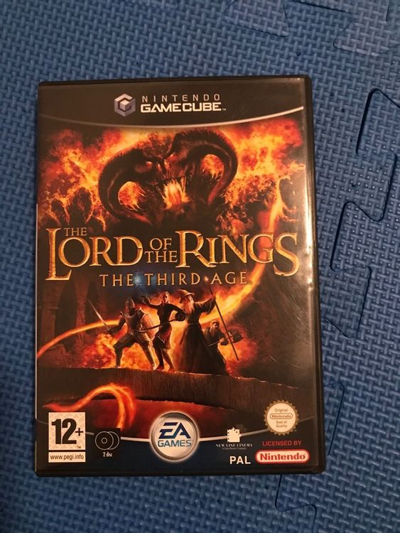 Lord of the Rings the third Age Gamecube 1