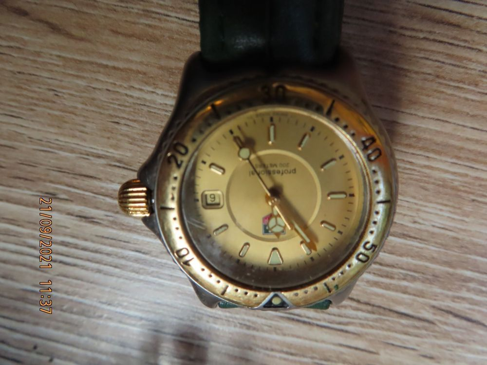 Tag Heuer Professional 200 m  WI 1351 1