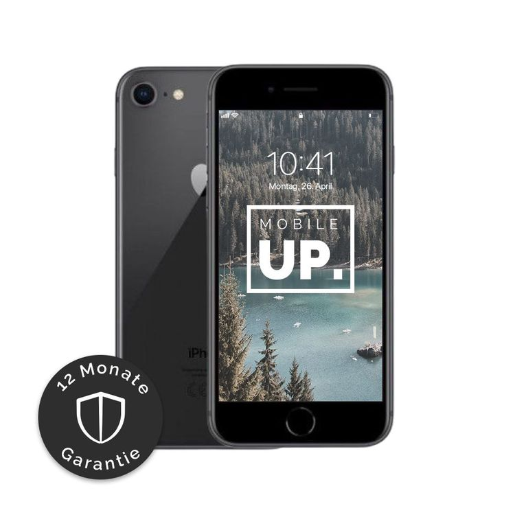 iPhone 8 64 GB Space Gray - Sehr gut 1