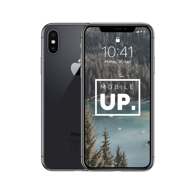 Défectueux iPhone X 64 GB Space Gray 1