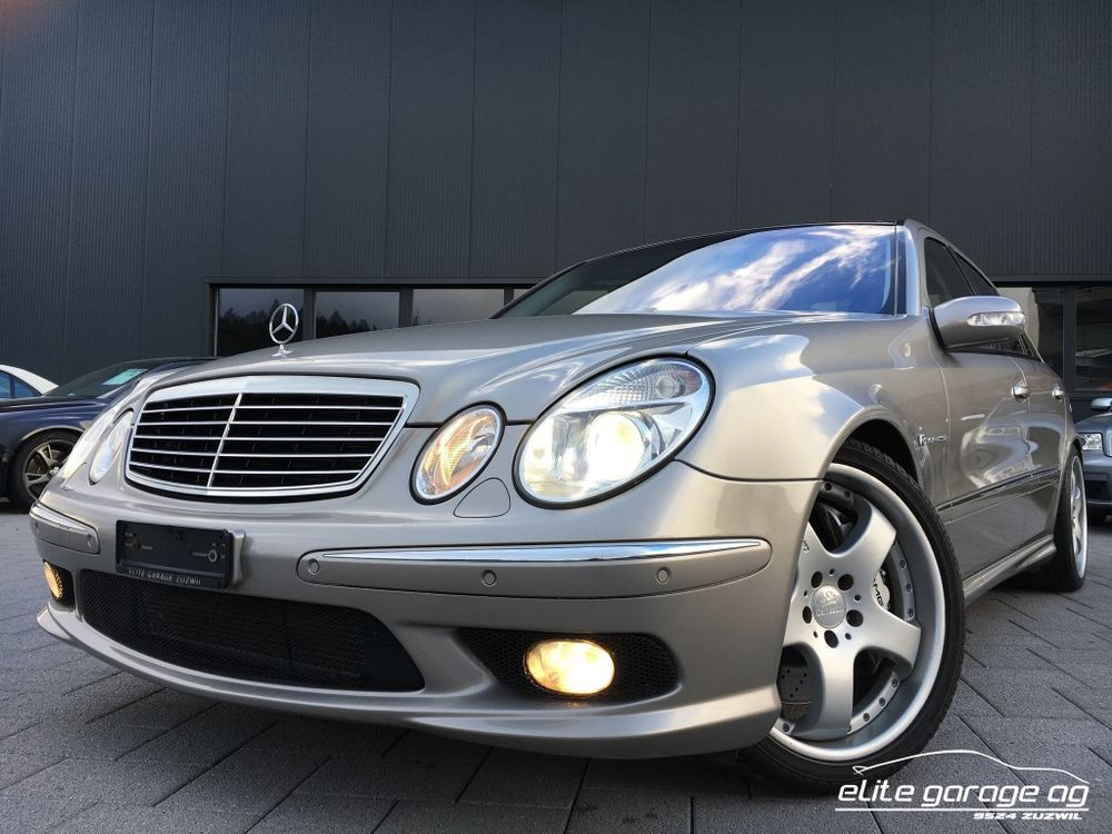 Mercedes-Benz E 55 AMG Avantgarde