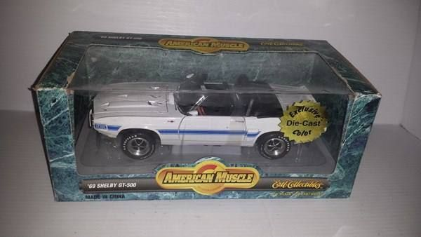 1969 FORD SHELBY MUSTANG GT500 1:18 ERTL