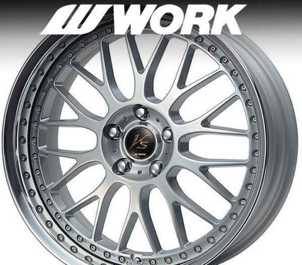 "WORK VS-XX 19"" 5x112 Mercedes Audi VW"