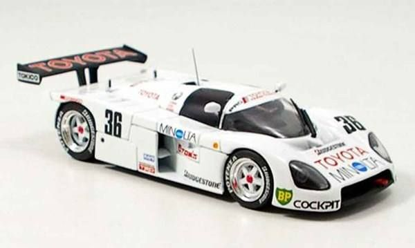 TOYOTA TOM'S 88C TEST CAR 1:43 EBBRO