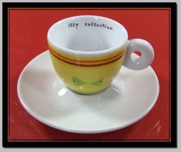 Illy Collection 2001 Tasse + Unterteller