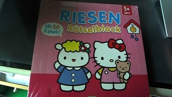 HELLO KITTY-RIESEN-RÄTSELBLOCK