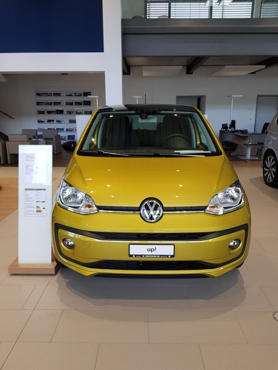 VW Up 1.0 sound up