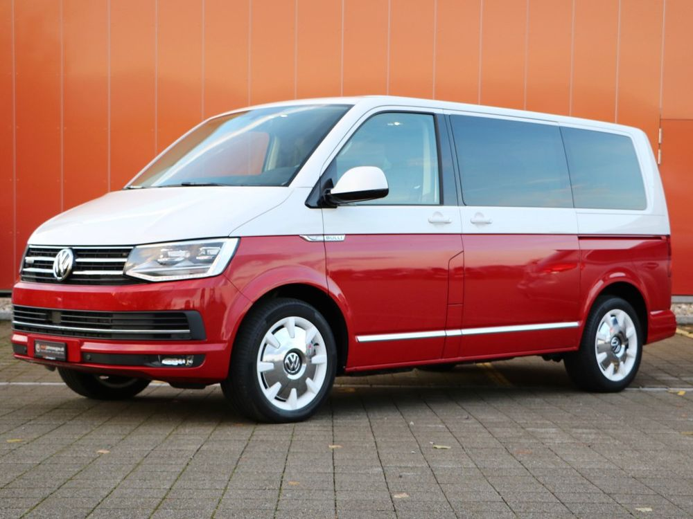 vw t6 multivan 2 0 bi tdi highline 4motion acheter sur. Black Bedroom Furniture Sets. Home Design Ideas