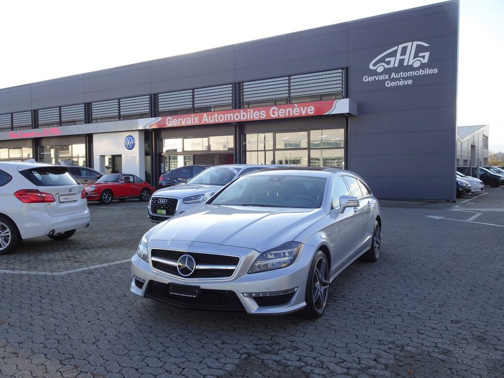 Mercedes-Benz CLS Shooting Brake 63 AMG S 4Matic Spee