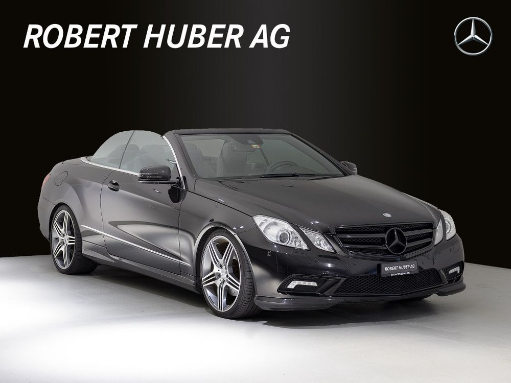 MERCEDES-BENZ E 350 CGI BlueEfficiency