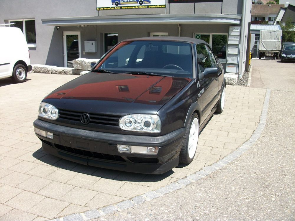 VW Golf Cabriolet 2000 Avantgarde
