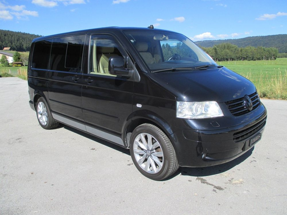 vw t5 multivan highline 2 5 tdi 4m kaufen auf. Black Bedroom Furniture Sets. Home Design Ideas