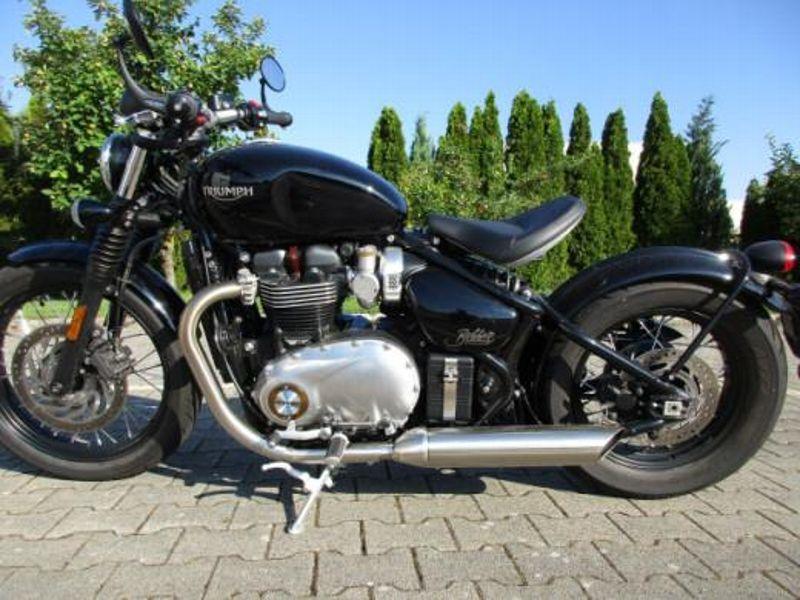 triumph bonneville 1200 bobber acheter sur. Black Bedroom Furniture Sets. Home Design Ideas