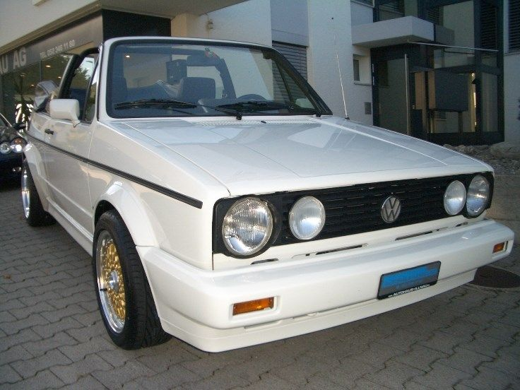 VW Golf Cabriolet 1800 Fashion-Line/Young-
